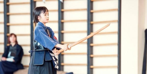 Японское фехтование кэндо для детей