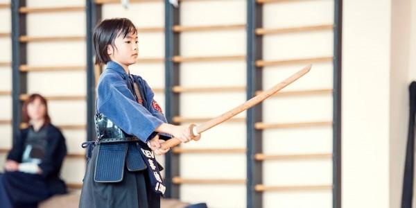 (Українська) Японське фехтування кендо для дітей